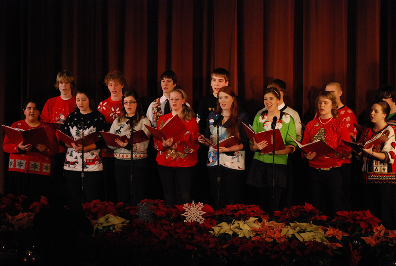 Lakeland Union High School Christmas Concert 2010