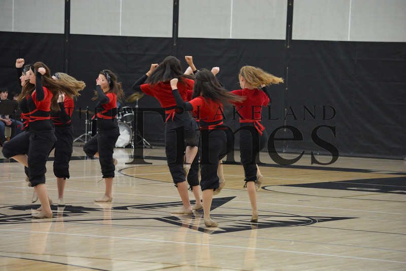 1-31-14 Lakeland Dance Team