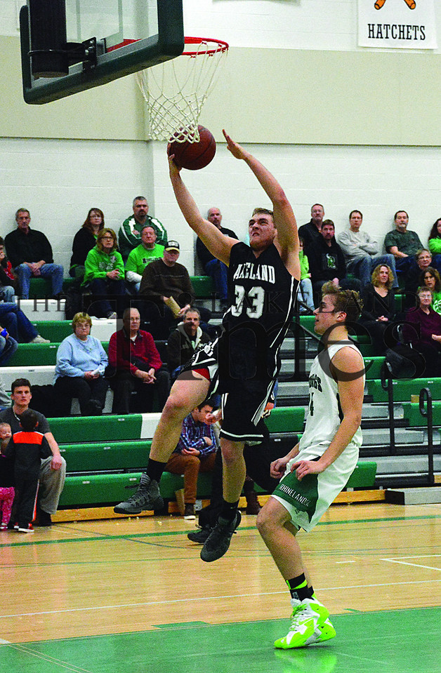 1-20-14 Lakeland Boys' Basketball at Rhinelander