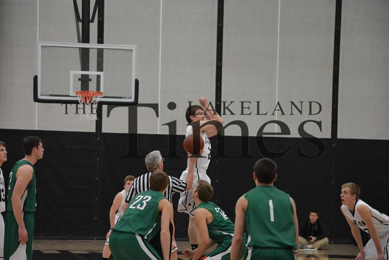 2-11-14 Lakeland Boys' Basketball vs. Rhinelander