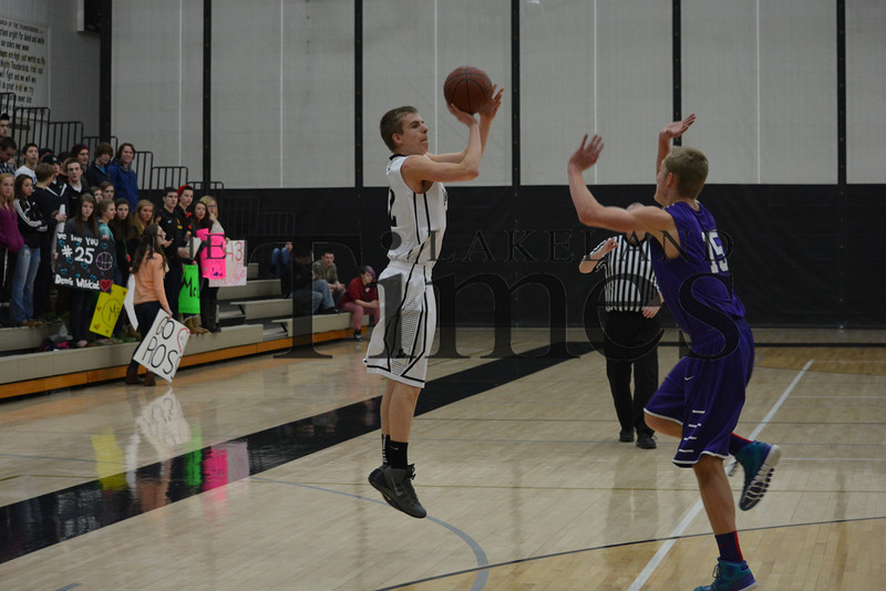 2-14-14 Lakeland Boys' Basketball vs. Mosinee