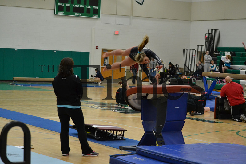 Lakeland Gymnastics at Rhinelander Invite 12-7-13