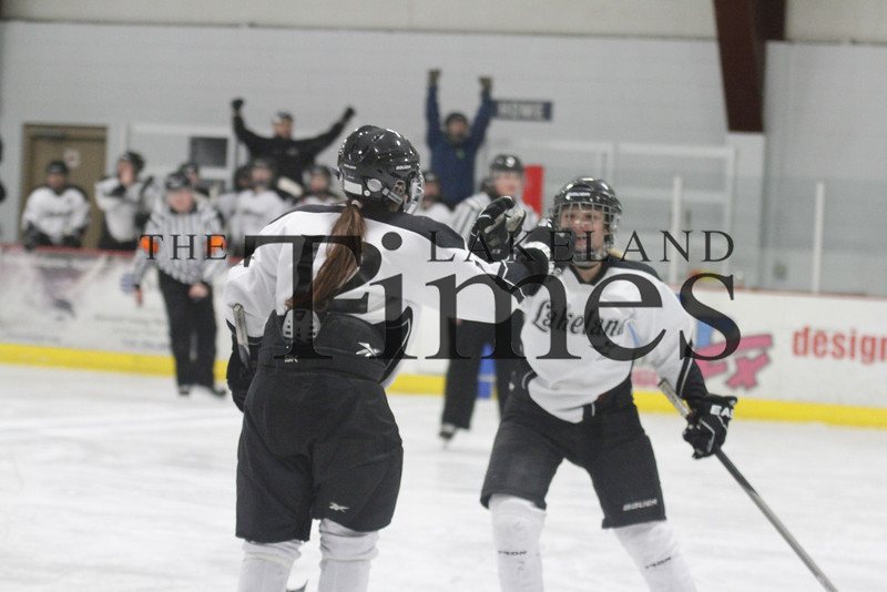 2-7-14 Lakeland Girls' Hockey vs. Marshfield