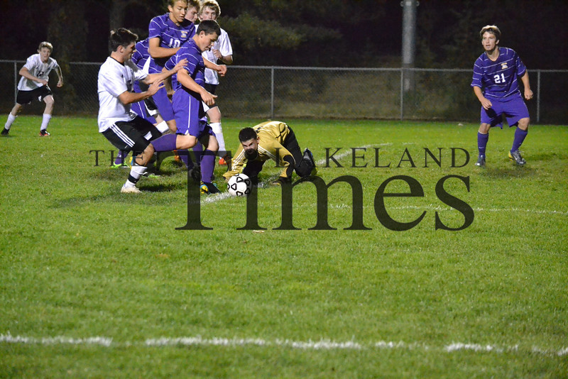 Lakeland Soccer vs. Ashland 10-10-13