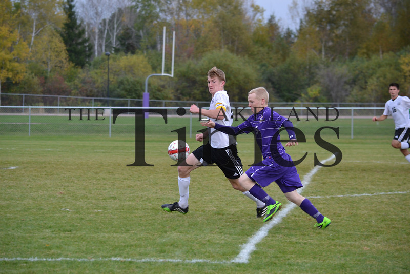 Lakeland soccer at Ashland: Regional Finals 10-17-13