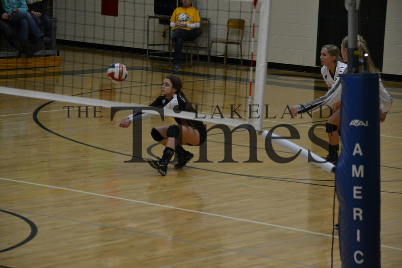 LUHS Volleyball at Wittenberg-Birnamwood 10-22-13