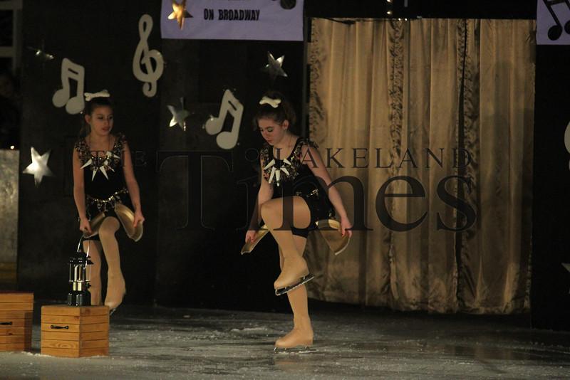 """Lakeland Ice Show """"On Broadway"""""""