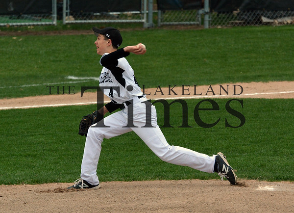 5-14-15 Lakeland Baseball vs. Northland Pines