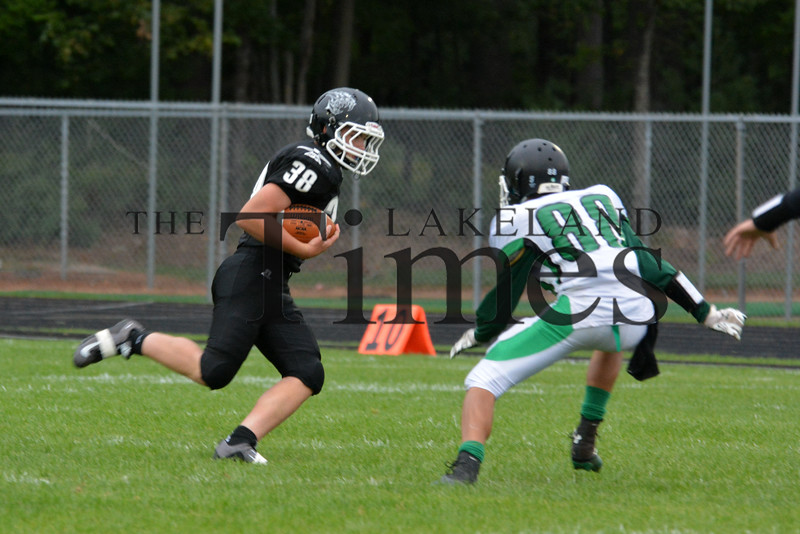 8-24-15 Lakeland JV Football vs. Rhinelander