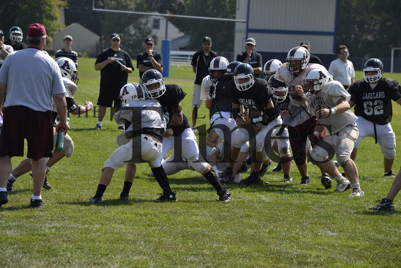 Lakeland Football Scrimmage at Wausau West