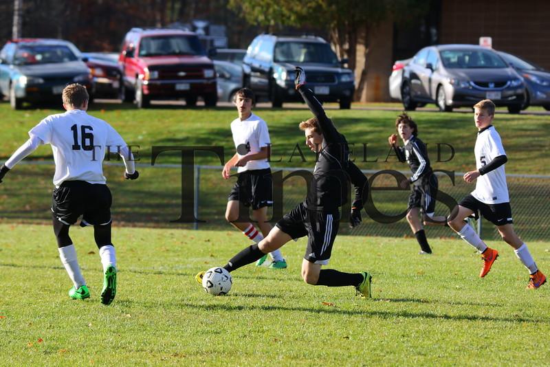 10-24-15 Lakeland Soccer vs. Shawano