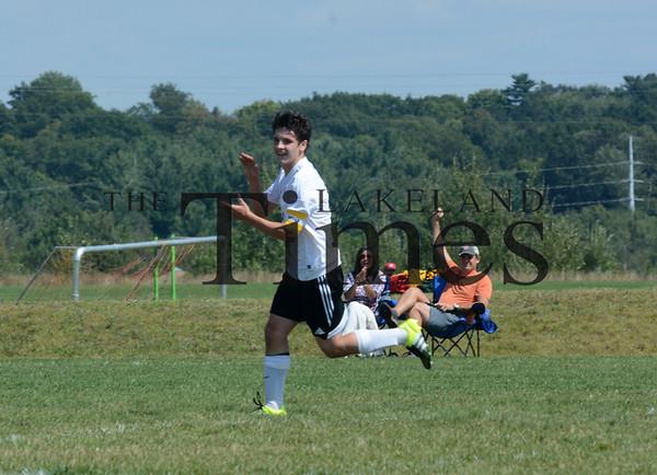 8-29-15 Lakeland Soccer vs. Ironwood