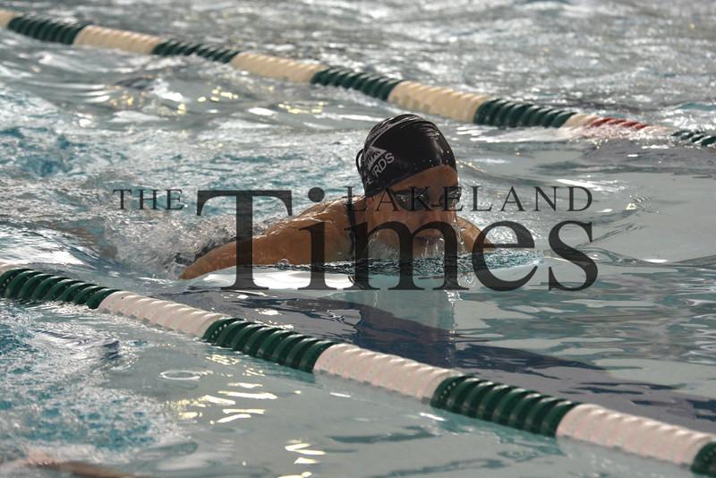 8-27-15 Lakeland Girls Swim at D.C. Everest Pentathlon