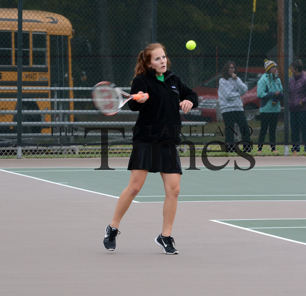 10-5-15 Tennis Subsectionals at LUHS