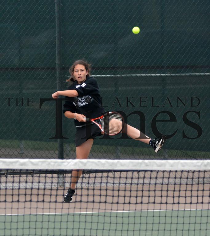 8-20-15 Lakeland Tennis vs. Columbus Catholic