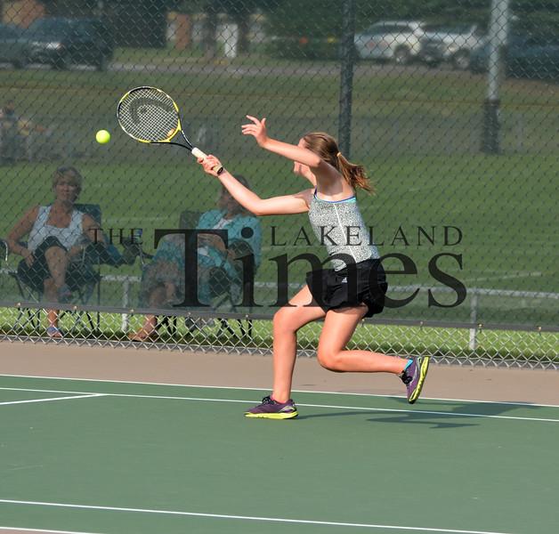 9-1-15 Lakeland Tennis vs. Rhinelander