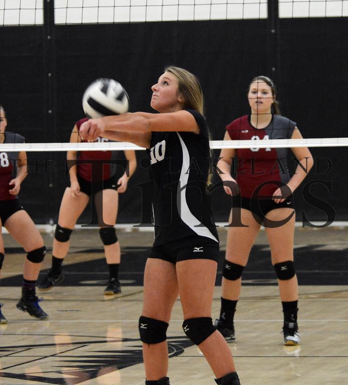 10-13-15 Lakeland JV Volleyball vs. Antigo