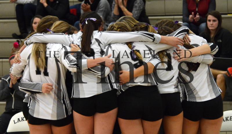 10-13-15 Lakeland Volleyball vs. Antigo