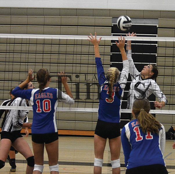 8-22-15 Lakeland Volleyball at Lakeland Scrimmage