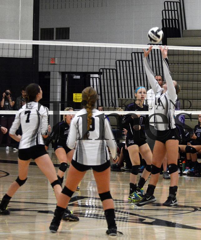 9-10-15 Lakeland Volleyball vs. Mosinee